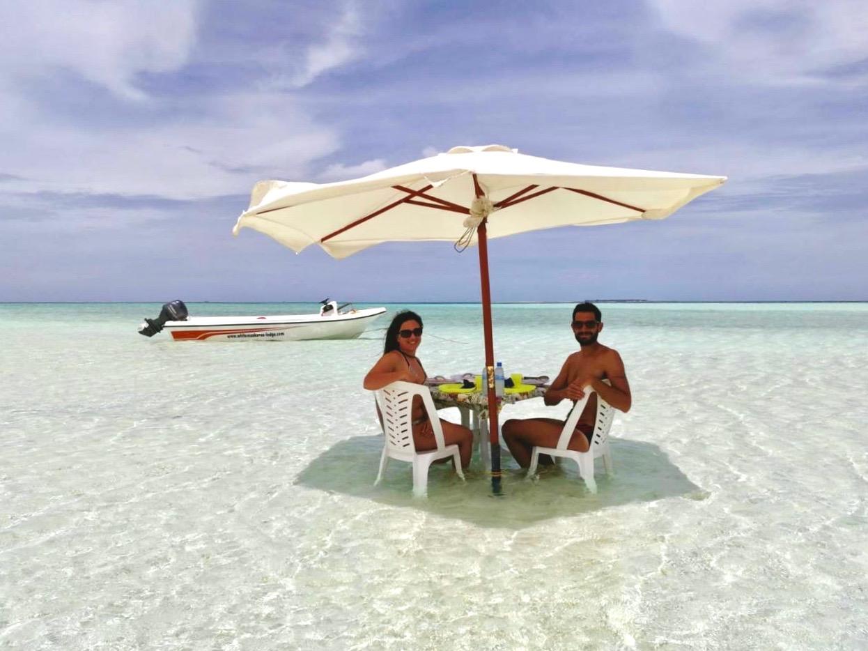 Maldive in guest house