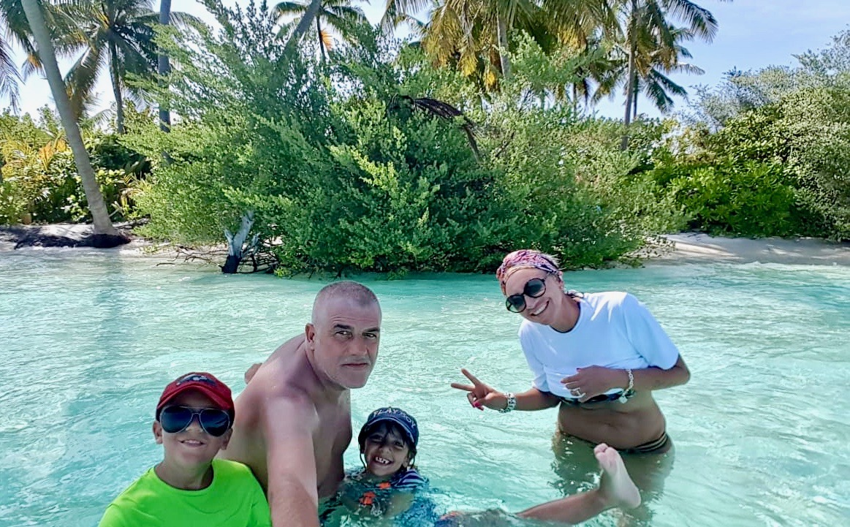 Maldive con bambini piccoli